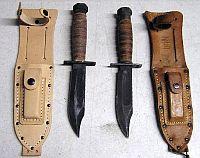 нож американского пилота напоминает уменьшенный вариант ножа фирмы KA-BAR