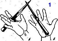 техника фехтования кинжалом