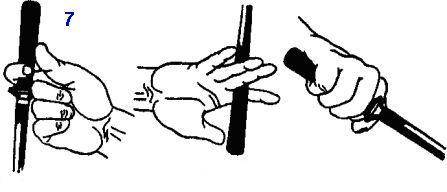 техника перехвата кинжала и ножа
