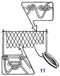 Плетение сетки рыболовной своими руками 95
