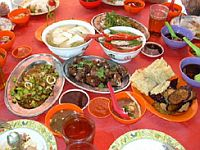 аварийный запас пищи и питание