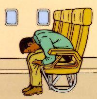 Безопасность в самолете, как вести себя при авиационных авариях, катастрофах, аварии при взлете и посадке, что делать при пожаре в самолете