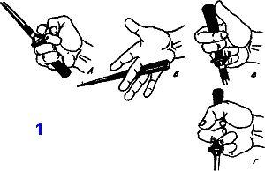техника фехтования кинжалом и ножом