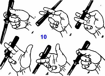 отработки техники перехватов используются упражнения